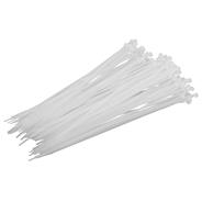 Opaski białe 4.8x400, 100szt