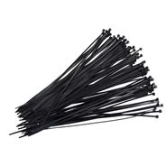 Opaski czarne 3.6x300, 100szt