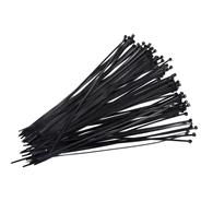 Opaski czarne 4.8x400, 100szt
