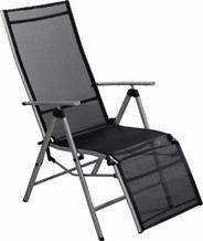 Aro Fotel tekstylny z podnóżnikiem