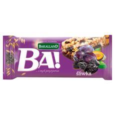 Bakalland Ba! śliwka Baton zbożowy 40 g