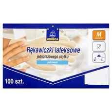Horeca Select Rękawiczki lateksowe M 100 sztuk