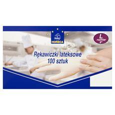 Horeca Select Rękawiczki lateksowe L 100 sztuk