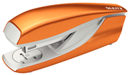 Zszywacz średni metalowy Leitz New NeXXt Series Metaliczny pomarańczowy