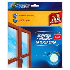 Jan Niezbędny Ściereczka z mikrofibry do mycia okien
