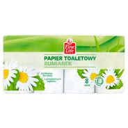 Fine Life Papier toaletowy 3-warstwowy rumianek 8 rolek