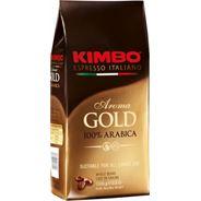 Kimbo Aroma gold Kawa ziarnista 100% Arabica 1 kg