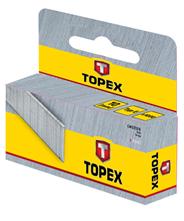 Topex Zszywki typ G 6 mm 1000 sztuk