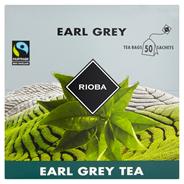 RIOBA herbata earl grey 50 saszetek