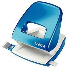 Dziurkacz duży metalowy Leitz WOW New NeXXt Metaliczny niebieski