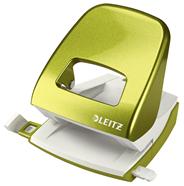 Dziurkacz duży metalowy Leitz WOW New NeXXt Metaliczny zielony