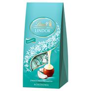 Lindt Lindor Kokosowa Pralinki z czekolady mlecznej z nadzieniem 100 g