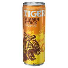 Tiger Vitamin Attack Gazowany napój energetyzujący 250 ml