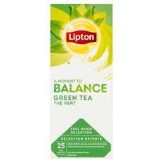 Lipton Herbata zielona 32,5 g (25 x 1,3 g)