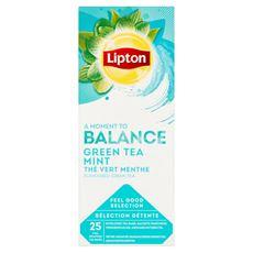 Lipton Herbata zielona aromatyzowana z miętą 40 g (25 x 1,6 g)