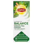 Lipton Herbata zielona aromatyzowana z przyprawami 32,5 g (25 x 1,3 g)