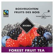 RIOBA herbata o smaku owoców leśnych 50 saszetek