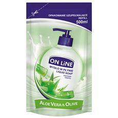 On Line Zapas mydło w płynie aloes 500 ml