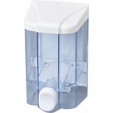 Faneco dozownik do mydła 0,5 l, transparentny