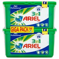 Ariel Professional  3 w 1 Kapsułki do prania 2 x 42 prania