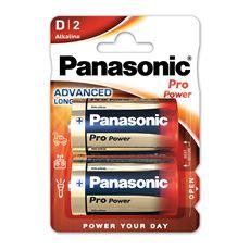 Baterie Alkaliczne Panasonic Pro Power. Typ D (LR20)