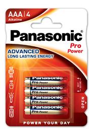 Baterie Alkaliczne Panasonic Pro Power. Typ AAA (LR03)