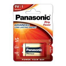 Bateria Alkaliczna Panasonic Pro Power. Typ 9V (6LR61)