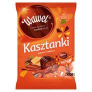 Wawel Kasztanki kakaowe z wafelkami Czekoladki nadziewane 1000 g
