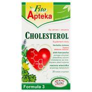 Fito Apteka Formuła 3 Cholesterol Suplement diety Herbatka ziołowa 40 g (20 torebek)