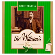 Sir William's Green Sencha Herbata zielona  80 g (50 torebek)