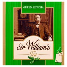 Sir William's Green Sencha Herbata zielona  80 g (50 torebek)