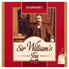 Sir William's Raspberry Herbata 120 g (50 torebek)