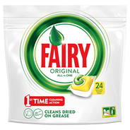 Fairy Original All In One Lemon Tabletki do zmywarki 24 sztuki