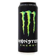 Monster Energy Gazowany napój energetyzujący 500 ml 24 sztuki