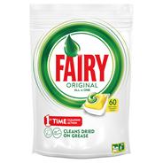 Fairy Original All In One Lemon Tabletki do zmywarki 60 sztuk