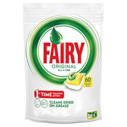 Fairy Original All In One Lemon Tabletki do zmywarki 60 sztuk