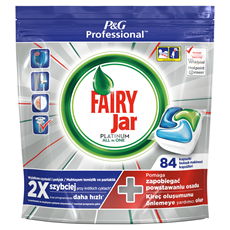 Fairy Jar Professional Platinum Kapsułki dozmywarki 84sztuki