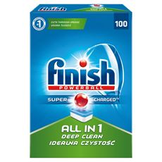 Finish All in 1 Tabletki do zmywarki 1810 g (100 sztuk)