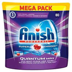 Finish Quantum Max Tabletki do zmywarki 1240 g (80 sztuk)