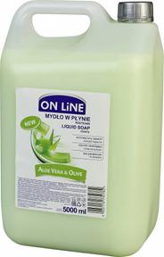 On Line Mydło w płynie aloes i oliwki 5 l