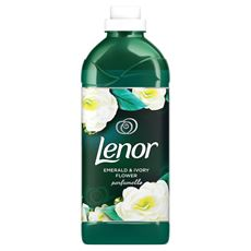 Lenor Emerald and Ivory Flower Płyn do płukania tkanin 1,5 l, 50 prań