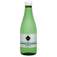 Rioba Cristal Naturalna woda mineralna gazowana 330 ml 12 sztuk