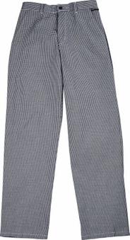 Spodnie kucharskie, wzrór w w pepitkę, rozmiar S