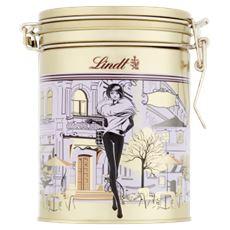 Lindt Lindor Pralinki z czekolady mlecznej białej i gorzkiej z nadzieniem 150 g