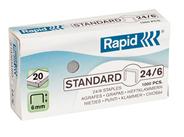 Rapid Zszywki Standard 24/6 1000 sztuk