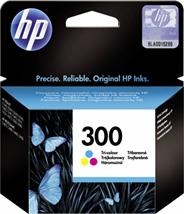HP 300 oryginalny tusz kolorowy