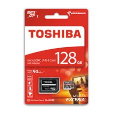 Toschiba karta MicroSD 128GB+AD CL10