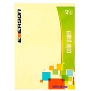Emerson Papier kolorowy kanarkowy 500 arkuszy 80 g A4