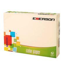 Emerson Papier kolorowy kość słoniowa 250 akruszy 160 g A4