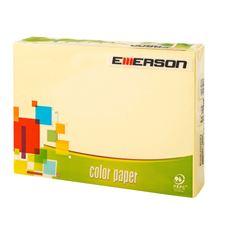 Emerson Papier kolorowy kanarkowy 250 akruszy 160 g A4